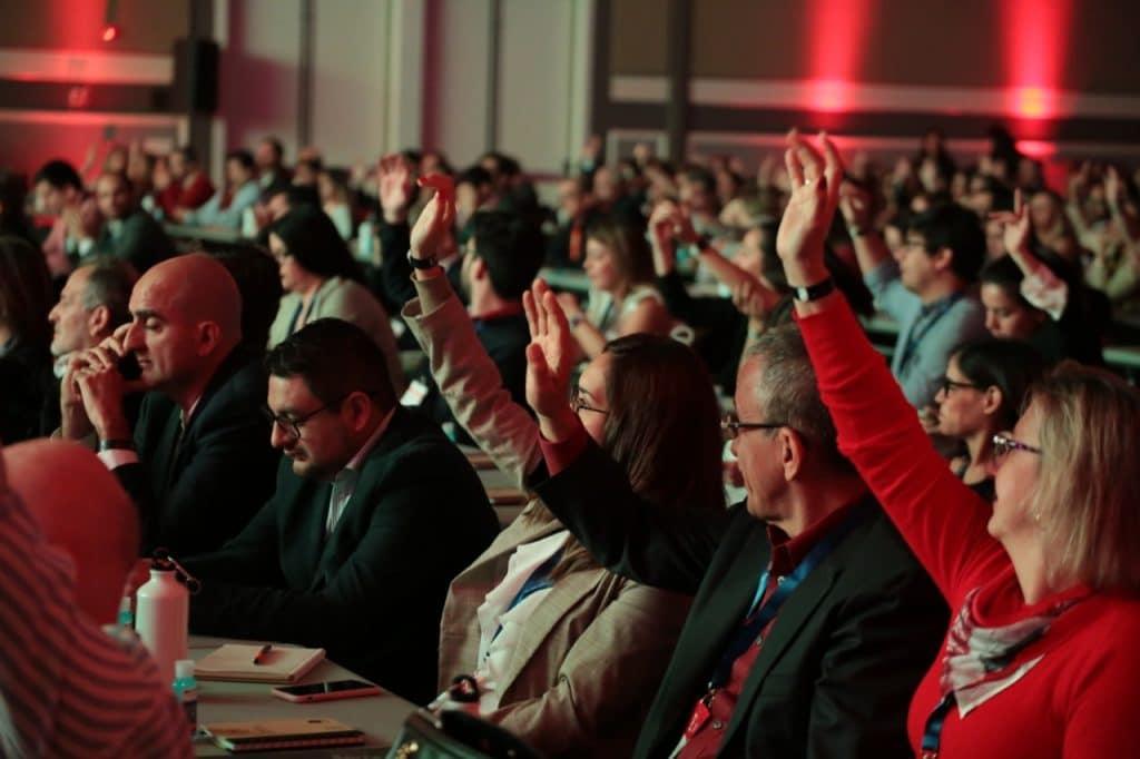 Leo migdal, director de Crandi, habló en Exponegocios, el evento empresarial más grande del país